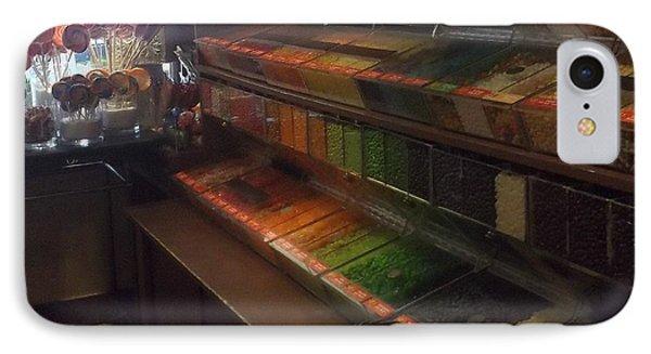 Rainbow Vintage Jelly Bean Shop IPhone Case