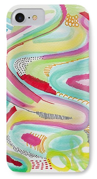 Rainbow Wave IPhone Case