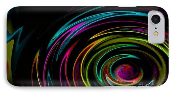Rainbow Whirlpool IPhone Case