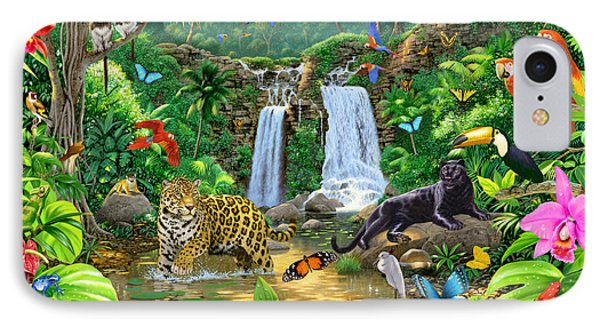Rainforest Harmony Variant 1 IPhone Case
