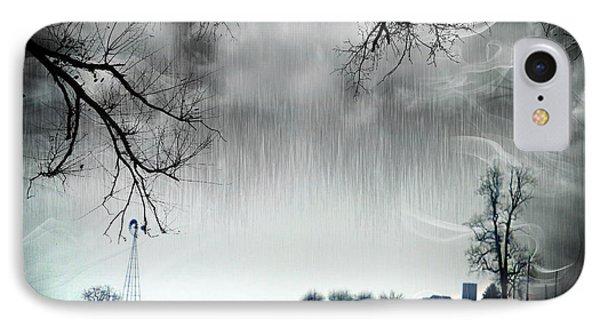 Rainy Day Farm Ver-5 IPhone Case