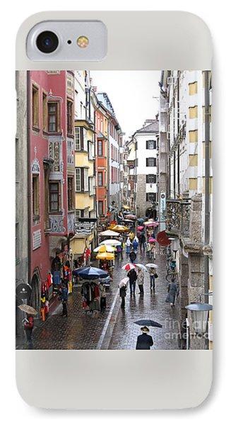 Rainy Day Shopping IPhone Case