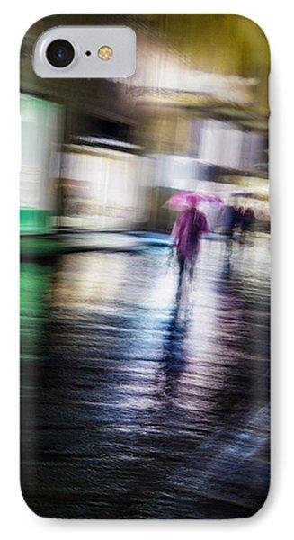 Rainy Streets IPhone Case