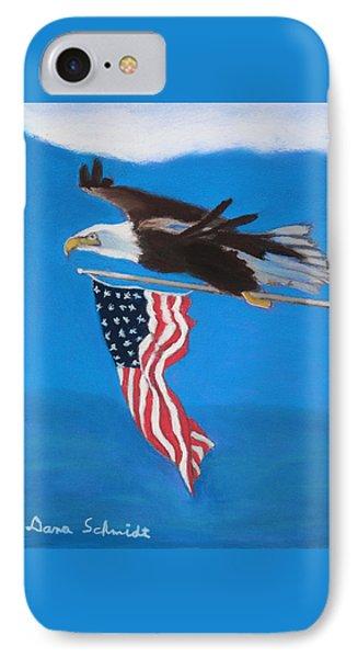 Raise The Flag Up High IPhone Case