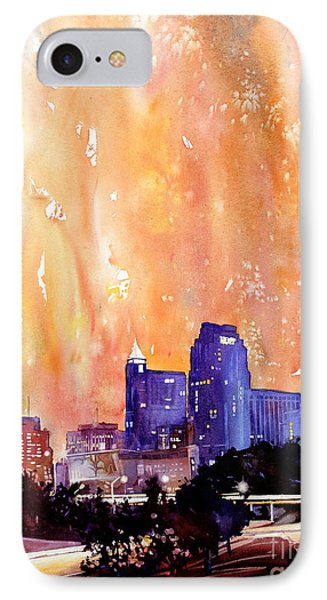 Raligh Skyline Sunset IPhone Case