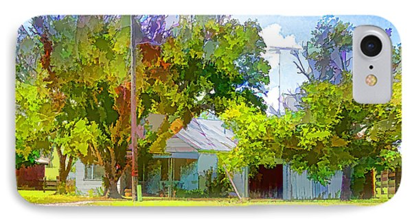Ranch House Painting IPhone Case