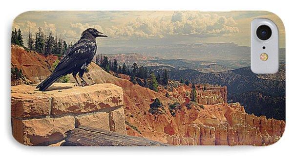 Raven's Eye View IPhone Case
