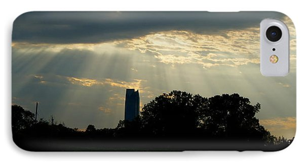 Rays Of Hope In Oklahoma IPhone Case