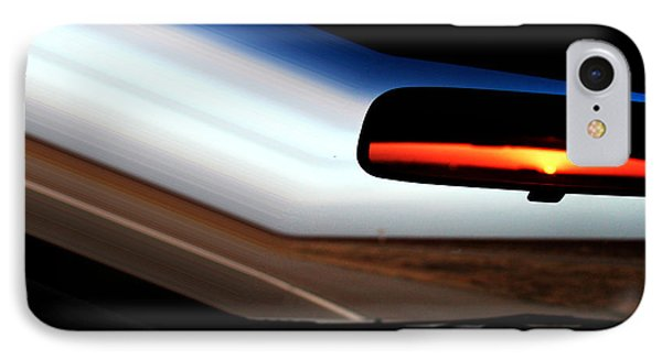 Rearview Sunset IPhone Case