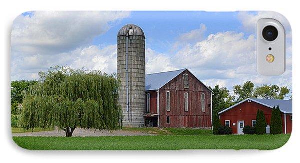 Red Barn #1 - Mifflinburg Pa IPhone Case
