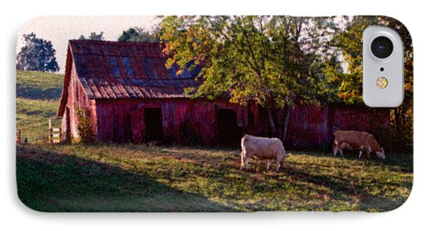 Red Barn Five IPhone Case