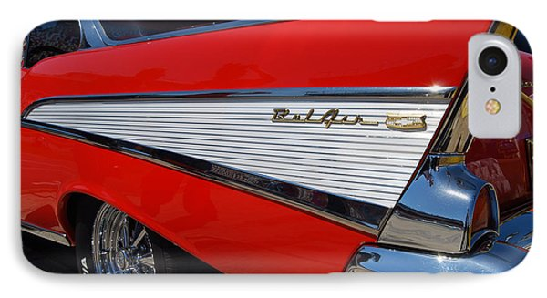 Red Belair Fins IPhone Case