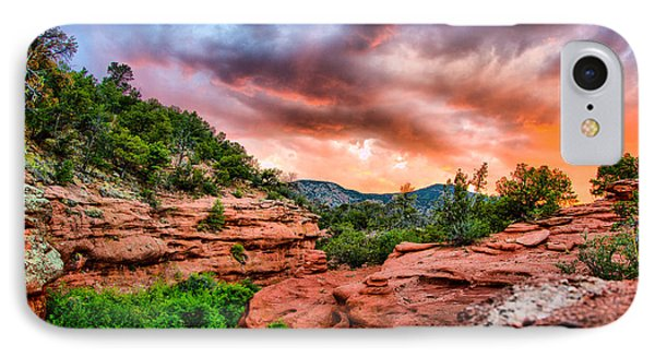 Red Canyon IPhone Case