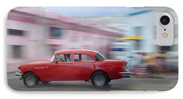 Red Car Havana Cuba IPhone Case