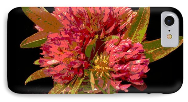 Red Clover 1 IPhone Case