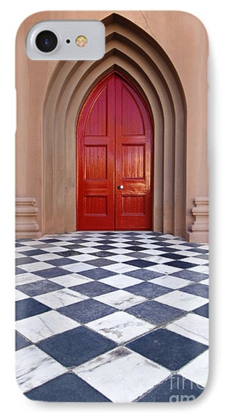 Red Door - D001859 IPhone Case