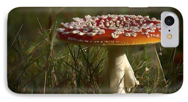 Red Fairy Mushroom IPhone Case