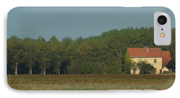 Red French Cottage IPhone Case