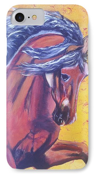 Red Fury IPhone Case