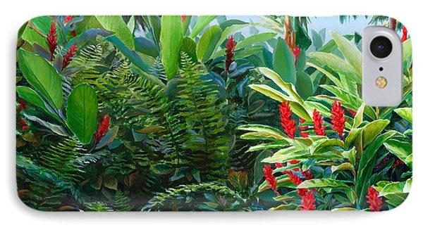 Red Garden Hawaiian Torch Ginger IPhone Case