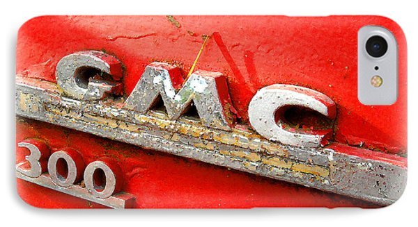 Red Gmc 300 IPhone Case