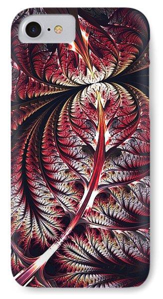 Red Leaf IPhone Case
