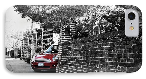 Red Mini Cooper- The Debut IPhone Case
