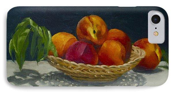 Red Peaches IPhone Case