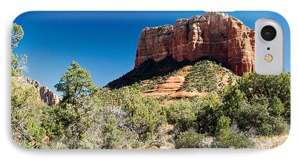 Red Rock Formation Near Sedona Arizona 4 IPhone Case
