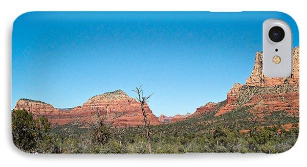 Red Rock Formations Near Sedona Arizona 2 IPhone Case