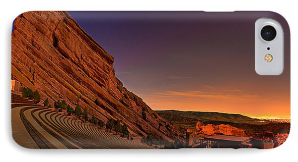 Red Rocks Amphitheatre At Night IPhone Case