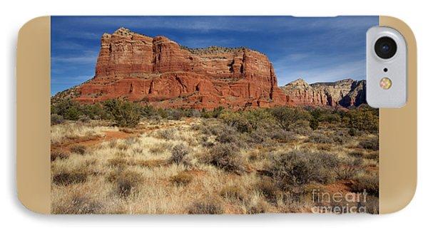 Red Rocks Of Sedona IPhone Case