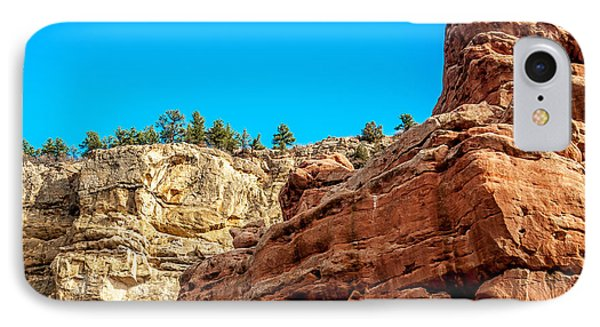 Red Rocks View 002 IPhone Case