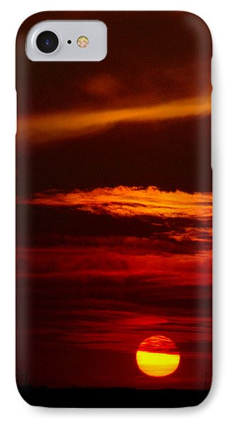 Red Sky At Night Vertical IPhone Case