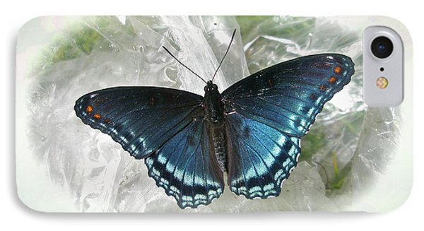 iPhone 8 Case - Red-spotted Purple Butterfly - Limenitis Arthemis by Mother Nature