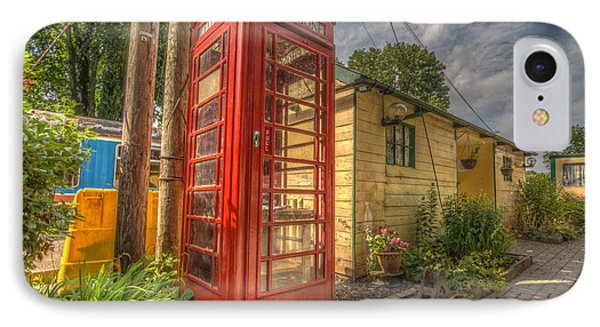 Red Telephone Box IPhone Case