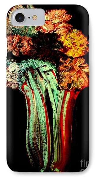 Red Vase Revisited IPhone Case