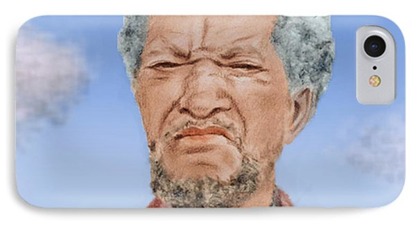 Redd Foxx As Fred Sanford IPhone Case