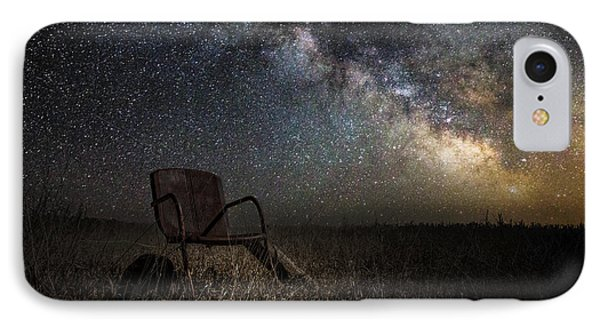 Sky iPhone 8 Case - Redneck Planetarium by Aaron J Groen