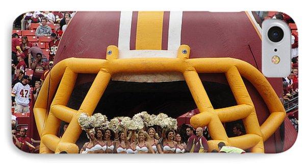 Redskins Cheerleaders IPhone Case