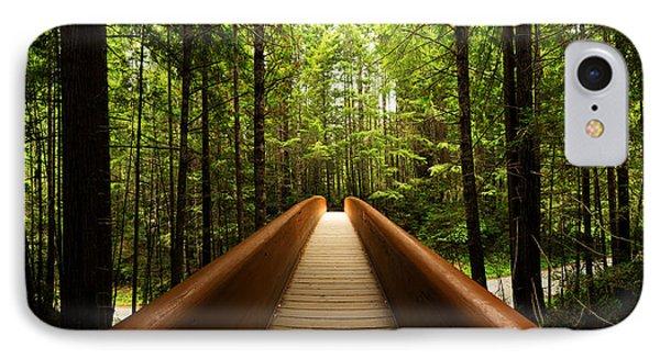 Redwood Bridge IPhone Case