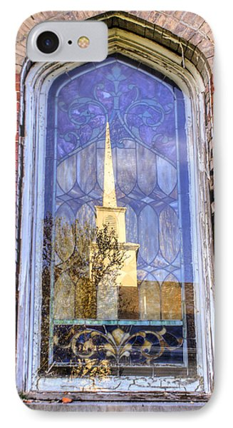 Reflected Steeple IPhone Case