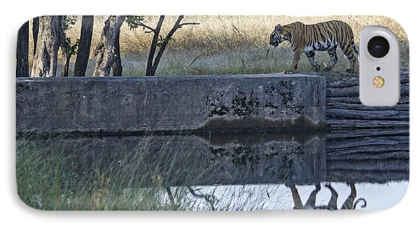 Reflection Of A Tiger IPhone Case