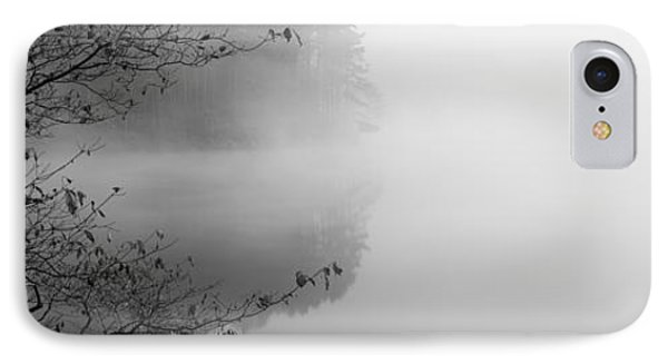 Reflection Of Trees In A Lake, Lake IPhone Case