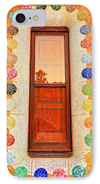 Reflection On Gaudi IPhone Case
