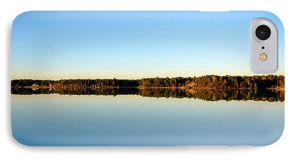 Reflection...lake At Sun Down II IPhone Case