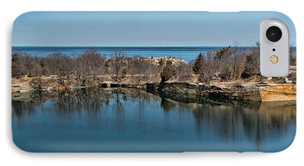 Reflections At The Quarry IPhone Case