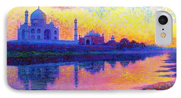 Taj Mahal, Reflections Of India IPhone Case