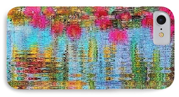 Reflections Of Monet IPhone Case