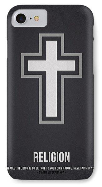 Religion IPhone Case